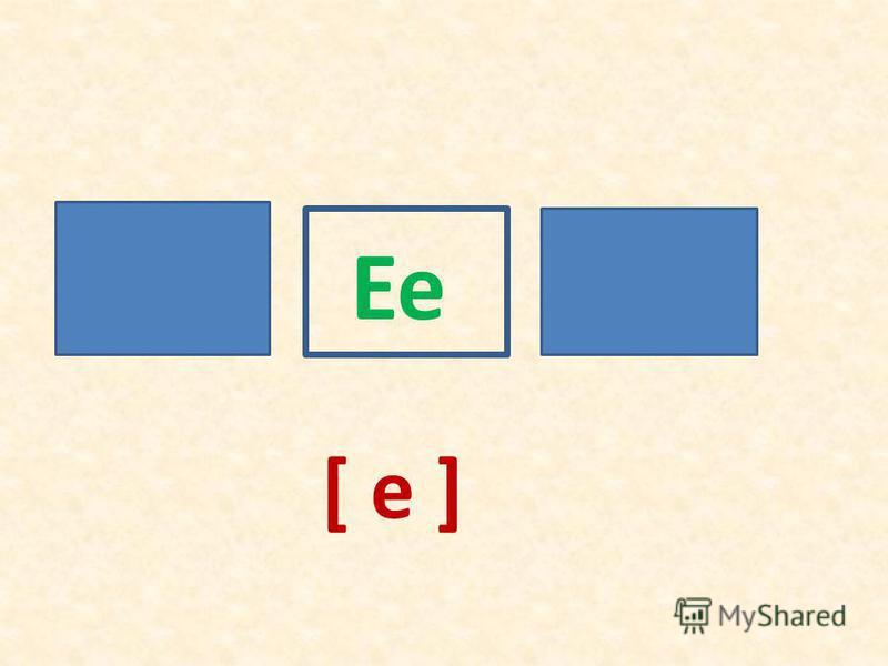 Ee [ e ]