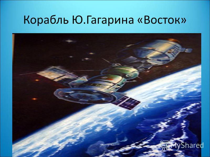 Корабль Ю.Гагарина «Восток»