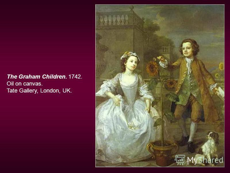 The Graham Children. 1742. Oil on canvas. Tate Gallery, London, UK.