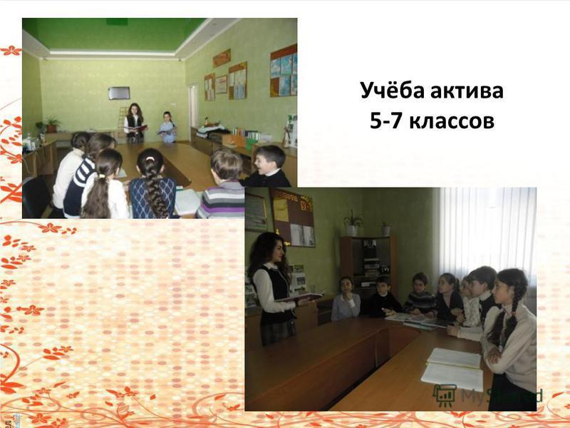 Учёба актива 5-7 классов