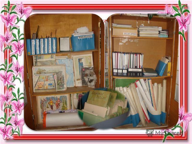 Карточки, картины, плакаты, тесты, книги Бережно в шкафу храню, картотеку я веду.