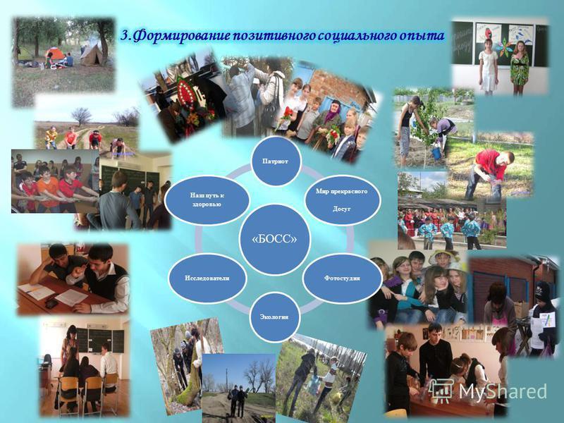 «БОСС» Патриот Мир прекрасного Досуг Фотостудия ЭкологияИсследователи Наш путь к здоровью
