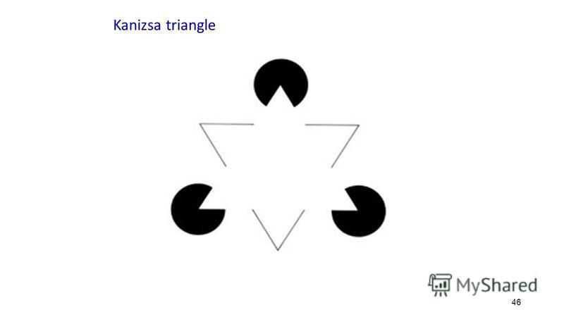 46 Kanizsa triangle