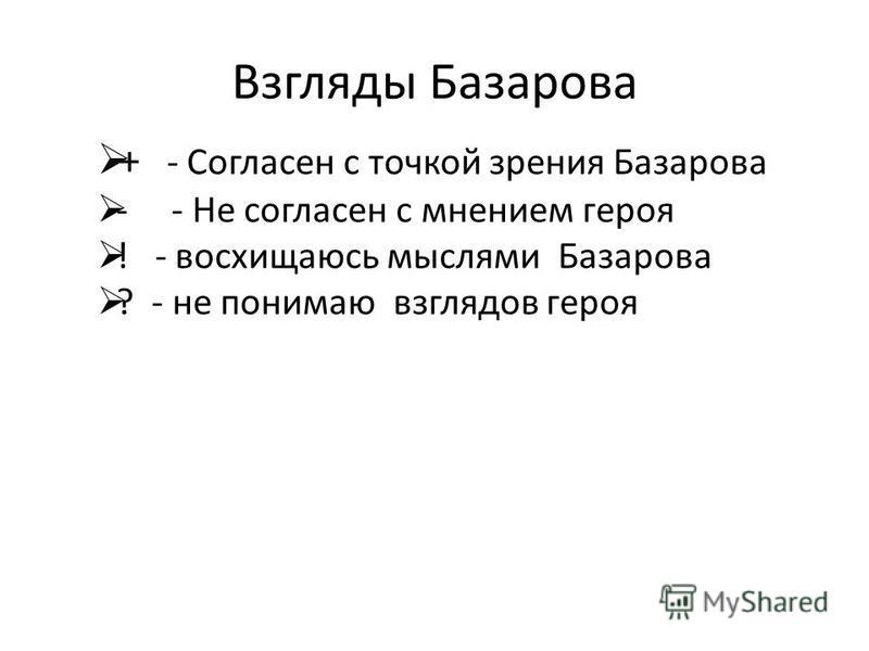 ассоциации Cвязь между отдельными представлениями, при котором одно представление вызывает другое. нигилизм Евгений Базаров