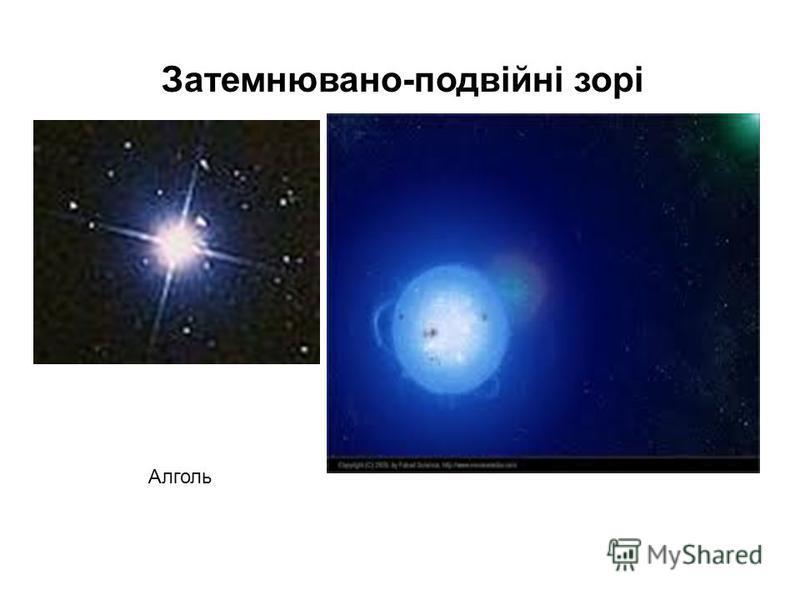 Затемнювано-подвійні зорі Алголь