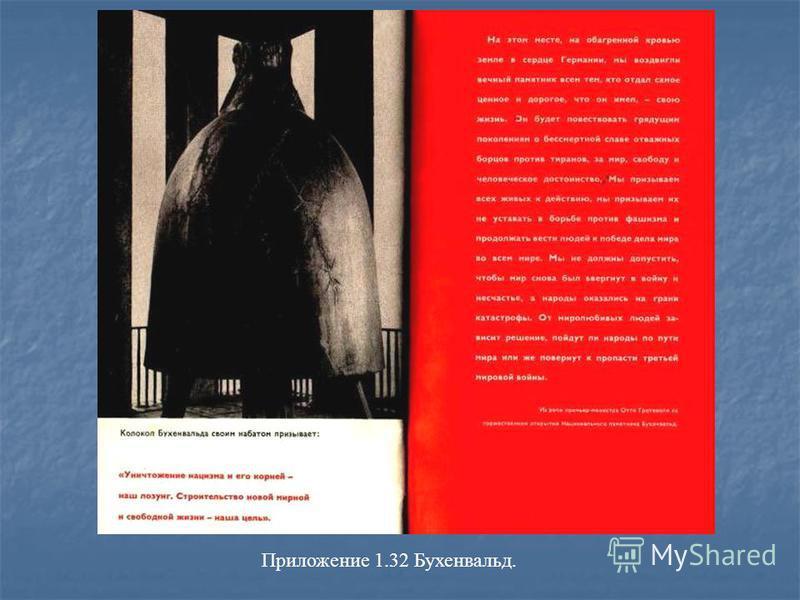 Приложение 1.32 Бухенвальд.