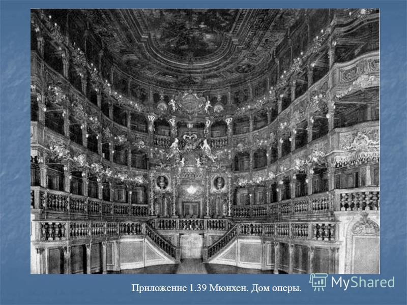 Приложение 1.39 Мюнхен. Дом оперы.