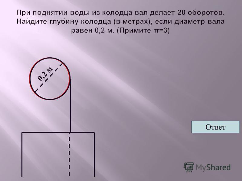 0,2 м Ответ
