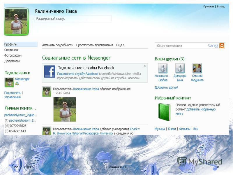 22.11.2011Смачна Л.П.8