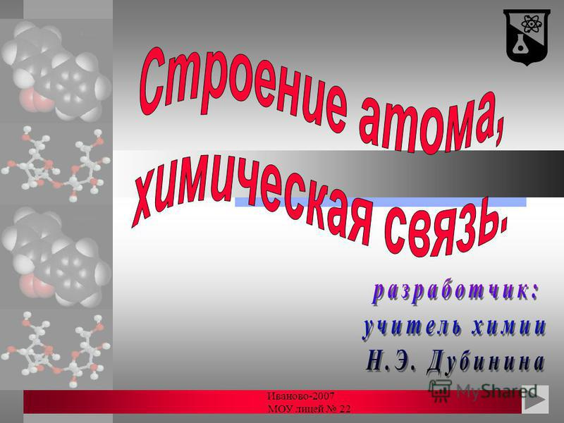 Иваново-2007 МОУ лицей 22