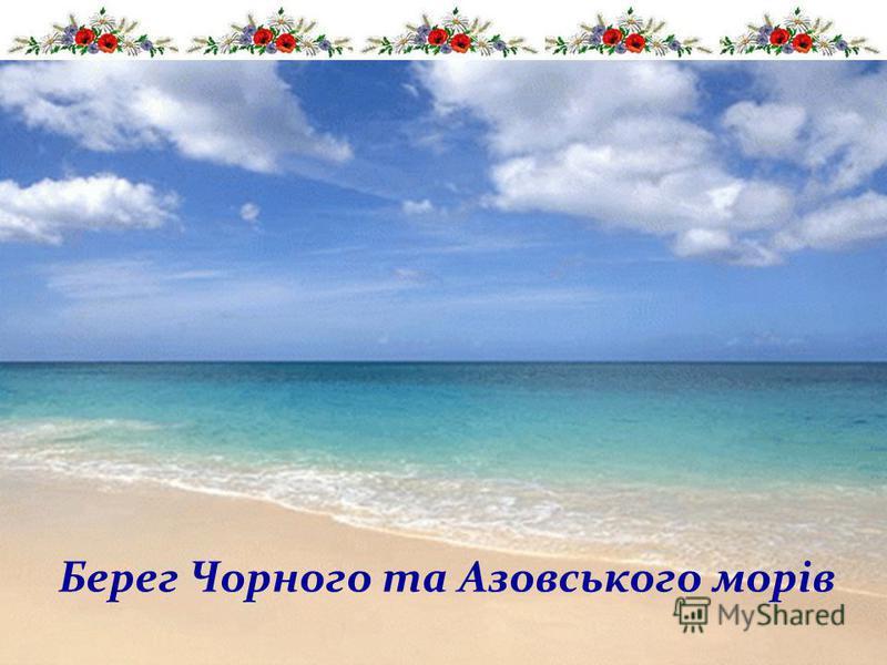 Берег Чорного та Азовського морів