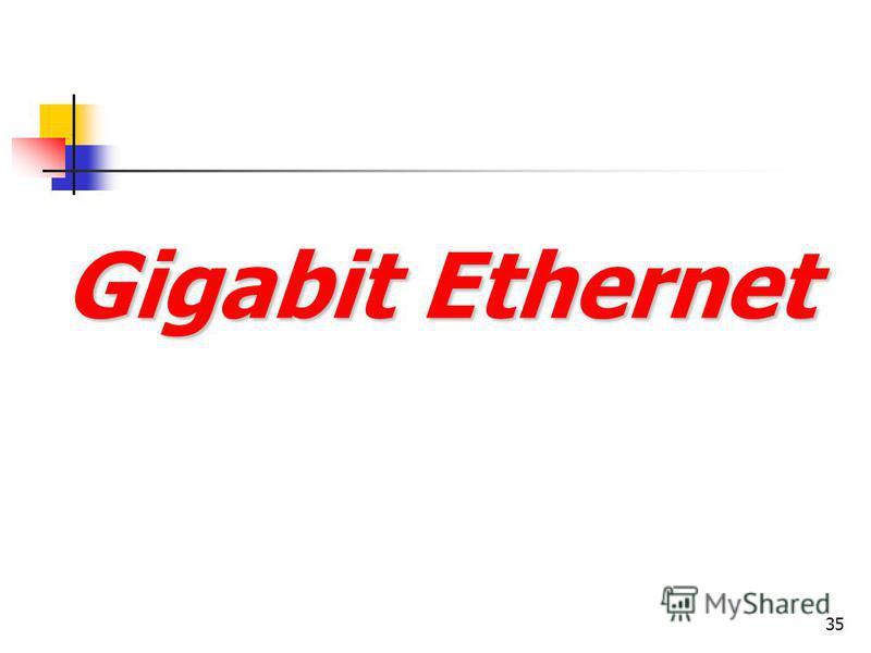35 Gigabit Ethernet