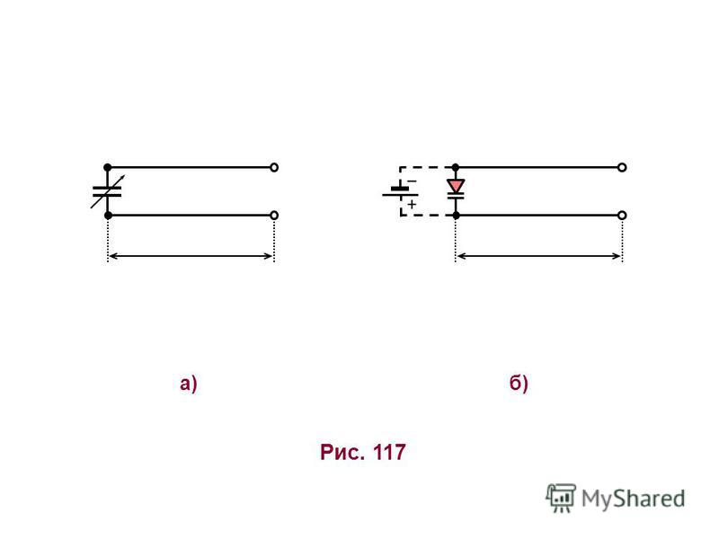 б)б) Рис. 117 а)а) +