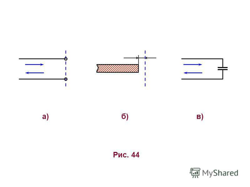 Рис. 44 а)в)в)б)б)