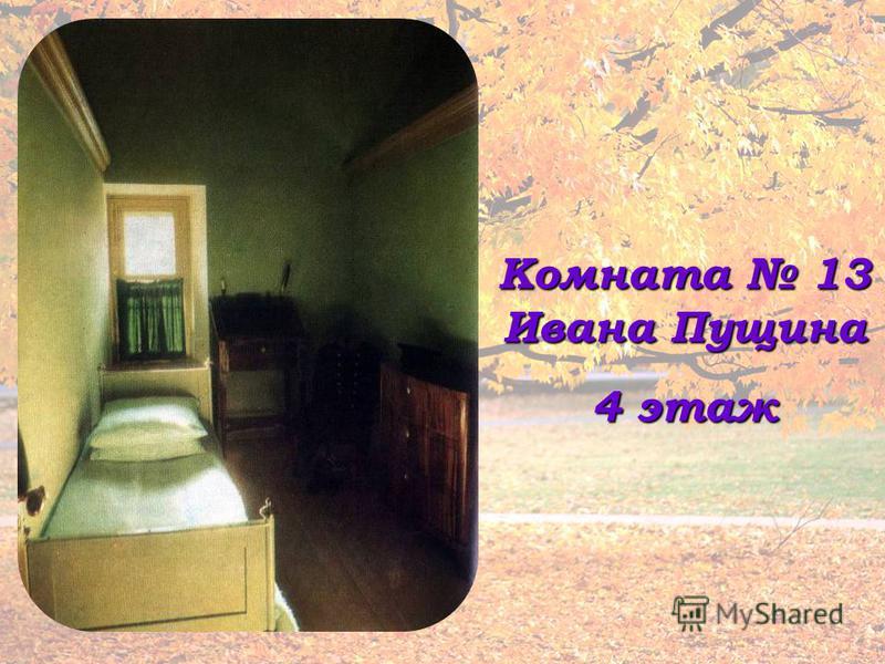 Комната 13 Ивана Пущина 4 этаж
