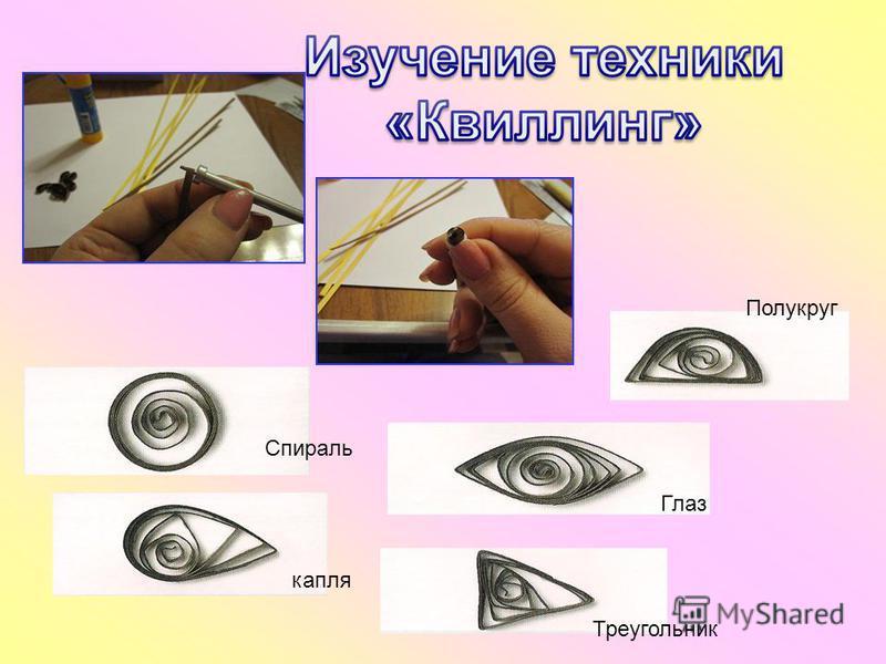 Спираль капля Глаз Полукруг Треугольник