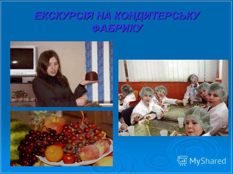 ЕКСКУРСІЯ НА КОНДИТЕРСЬКУ ФАБРИКУ