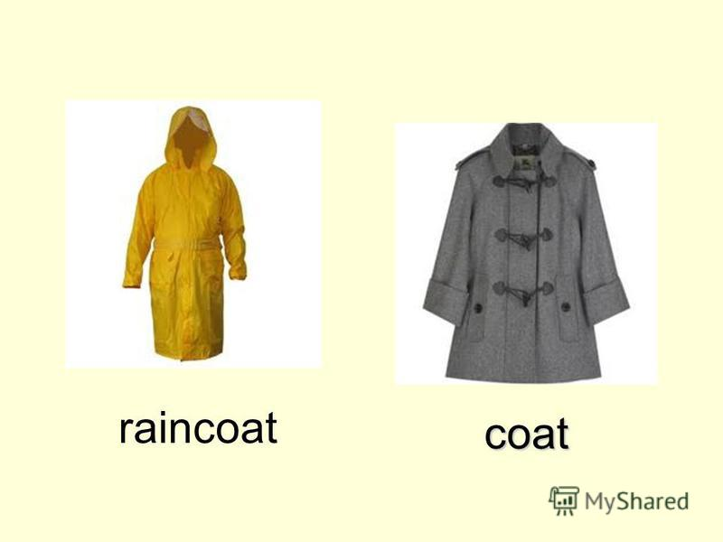 coat raincoat