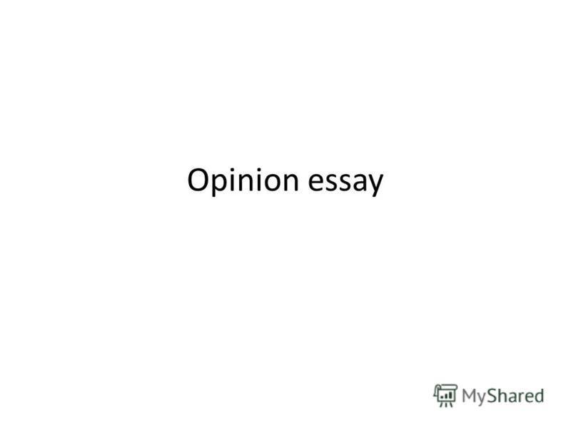 essay public opinion
