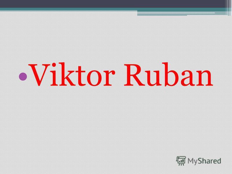 Viktor Ruban