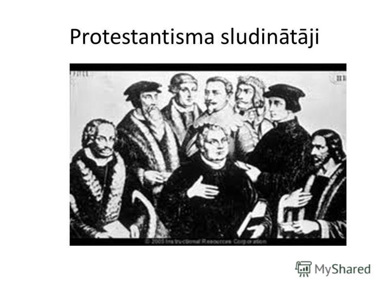 Protestantisma sludinātāji