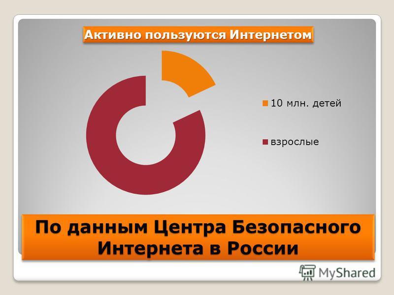 По данным Центра Безопасного Интернета в России