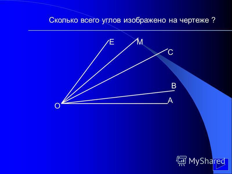 Сколько всего треугольников вы видите на чертеже?