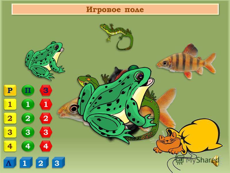 Правила игры – викторины «Кот в мешке» 1. Ученики 7 класса делятся на 3 команды, выбирают капитана. 2. На игровом поле капитаны команд выбирают категорию и номер задания. Категории выделены различными цветами: - вопросы по теме «Надкласс Рыбы» - вопр