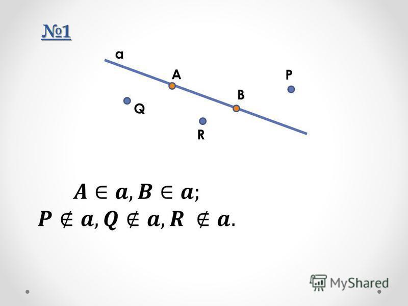 1 A R Q P B a