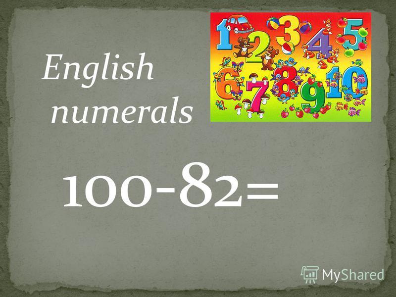 36+40= english numerals
