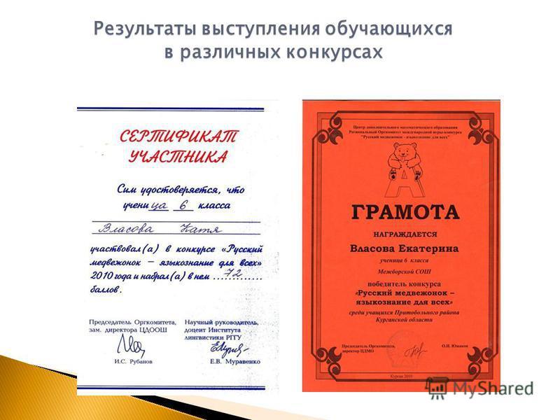 Организация и проведение профессиональных конкурсов