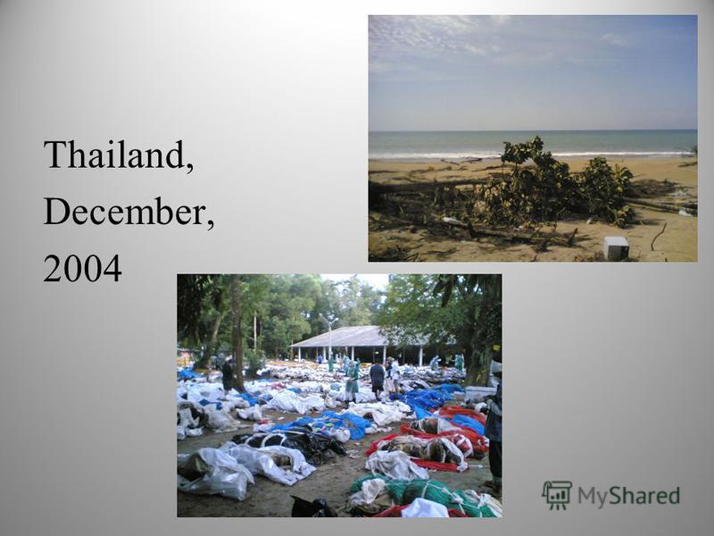 Thailand, December, 2004