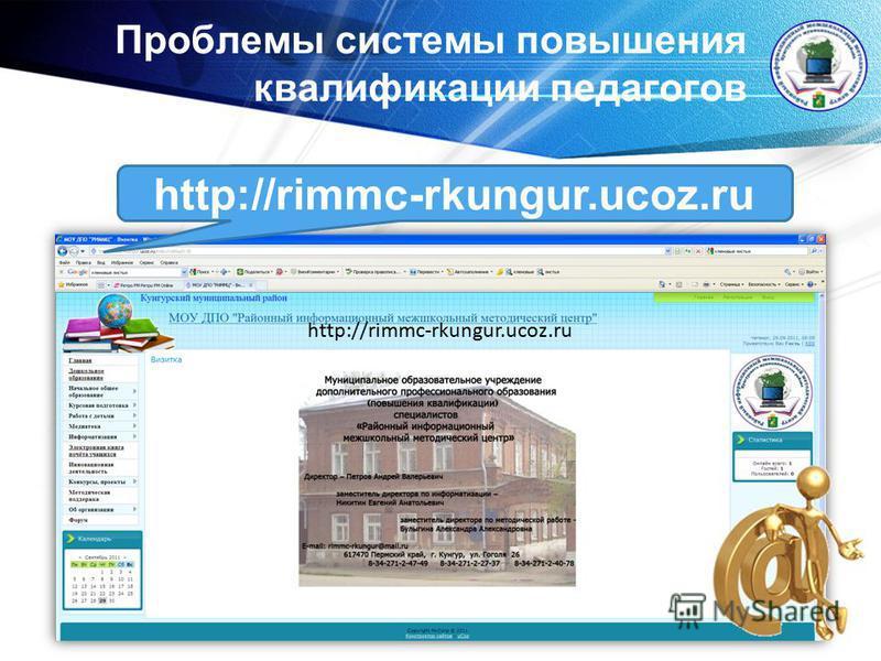 www.themegallery.com Проблемы системы повышения квалификации педагогов http://rimmc-rkungur.ucoz.ru