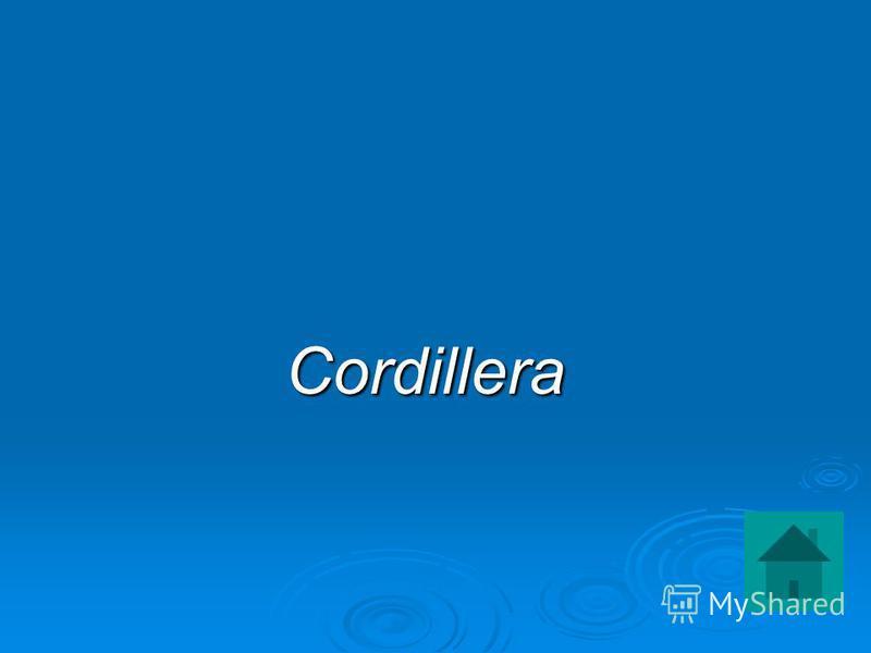Cordillera Cordillera