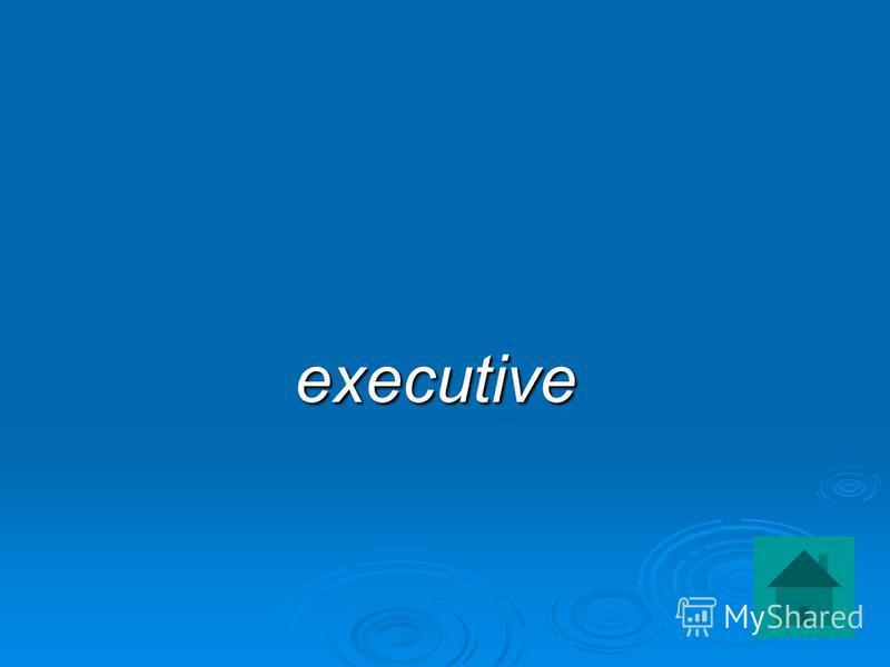 executive executive