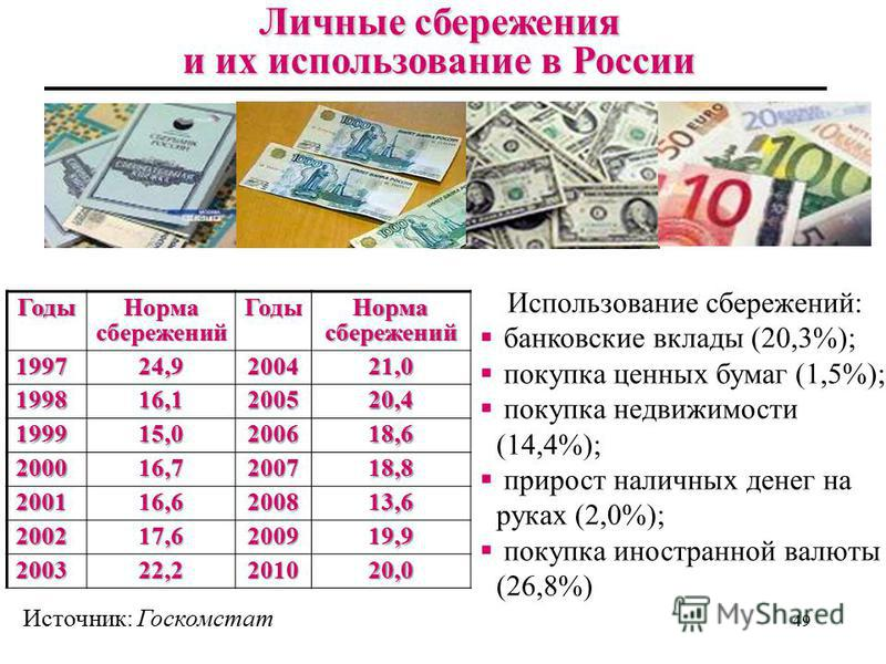 48 Другие показатели национальных счетов: располагаемый личный доход Располагаемый доход (РД в распоряжении Располагаемый доход (РД) - это денежный доход, находящийся в распоряжении домохозяйств, который они могут использовать по собственному усмотре