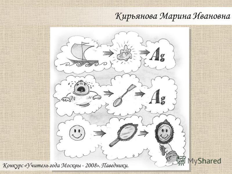 Курасова Елена Владимировна Конкурс «Учитель года Москвы - 2008». Паведники.