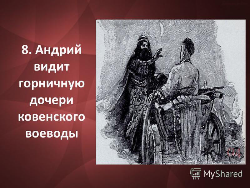 8. Андрий видит горничную дочери ковенского воеводы