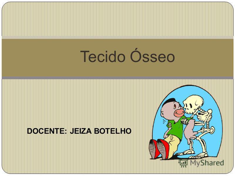 Tecido Ósseo DOCENTE: JEIZA BOTELHO