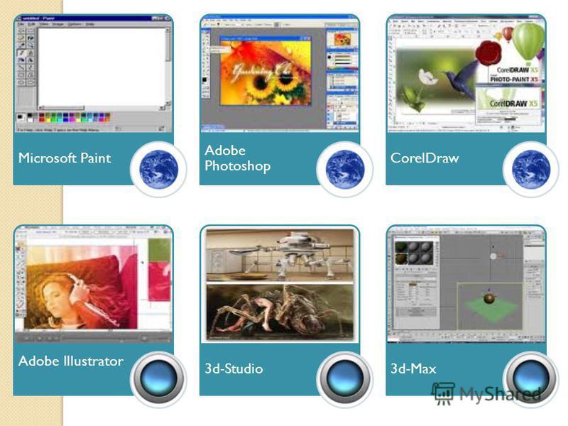 Програмні засоби комп ' ютерної графіки Графічний редактор – це прикладна програма, яка дає користувачеві змогу створювати й редагувати на екрані комп ' ютера зображення та зберігати їх для подальшого використання. Растрові редактори Microsoft Paint