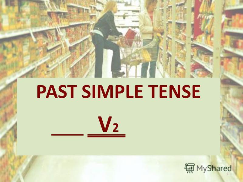 PAST SIMPLE TENSE V 2 4
