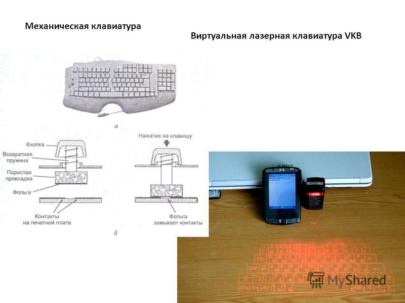Виртуальная лазерная клавиатура VKB Механическая клавиатура