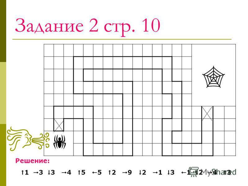 Задание 2 стр. 10 Решение: 1 3 3 4 5 5 2 9 2 1 3 1 2 4 3