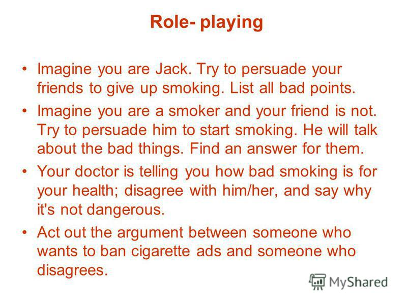 smoking essay argumentative
