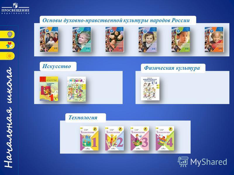 Основы духовно-нравственной культуры народов России Искусство Технология Физическая культура