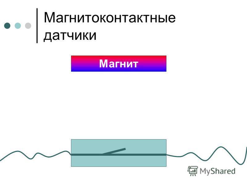 Магнитоконтактные датчики Магнит