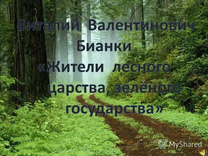 В них нет волшебных палочек или сапог- скороходов, но чудес там не меньше. Удалось- таки писателю найти волшебные слова, которые «расколдовали» таинственный лесной мир.