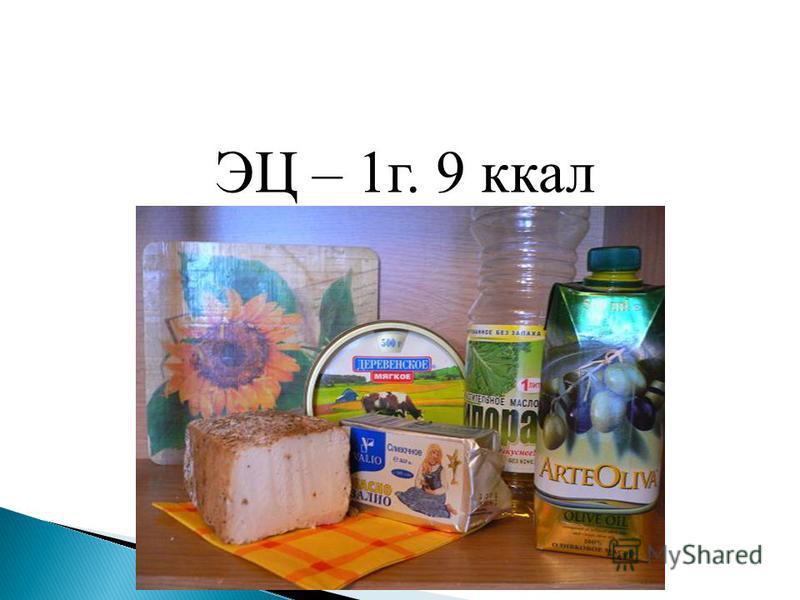 ЭЦ – 1 г. 9 ккал
