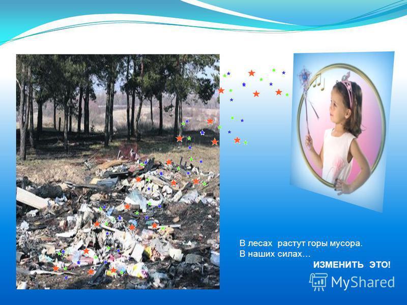 В лесах растут горы мусора. В наших силах… ИЗМЕНИТЬ ЭТО!