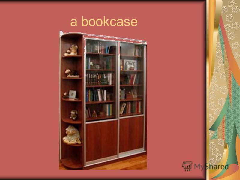 a bookcase